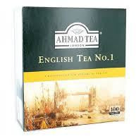 AHMAD PLAIN ENGLISH TEA BAGS NO.1
