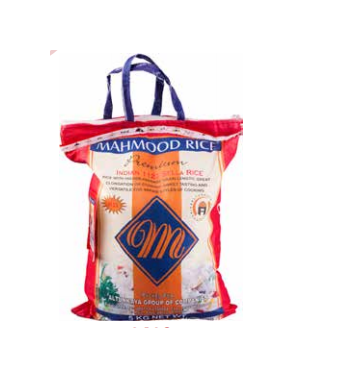 Mahmood Indian sella rice 5kg
