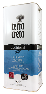 Terra Creta Traditional olive oil 5L