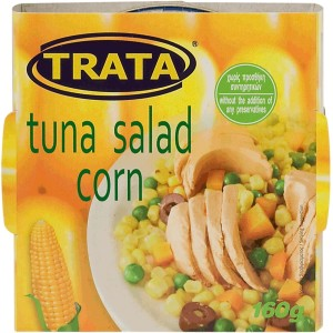 Tuna salad with corn 160g
