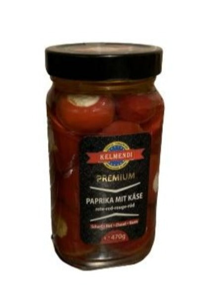 KELMENDI RED PAPRIKA CHEESE 470G