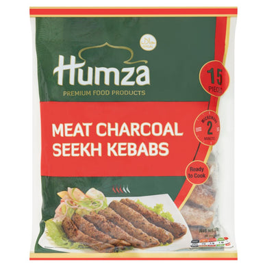 Humza meat charcoal kebabs 750g