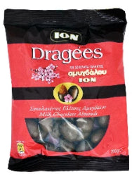 ION Dragees Milk chocolate almonds 200g