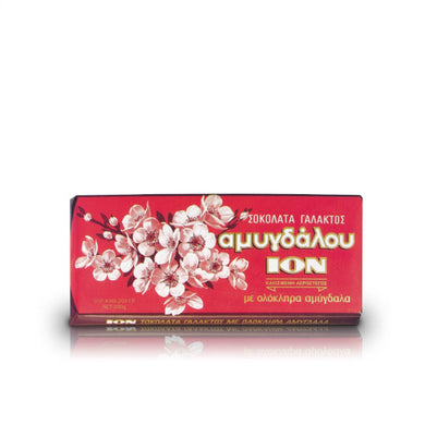 ION  CHOCOLATE PRALINE WITH ALMONDS 100G
