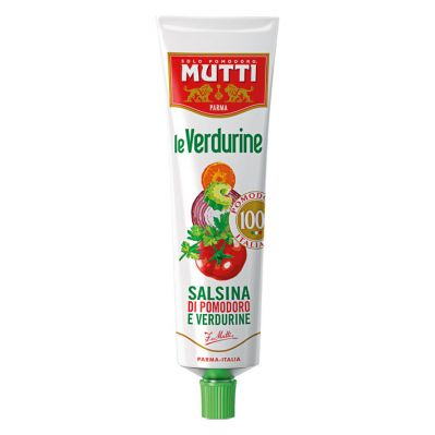 Mutti Verdurine Tube 130g