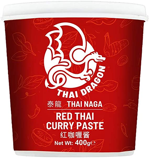 Thai Dragon RED curry paste 400g
