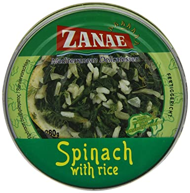 280G SPINACH & RICE
