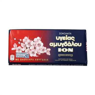 ION Dark Chocolate With Almonds 100g