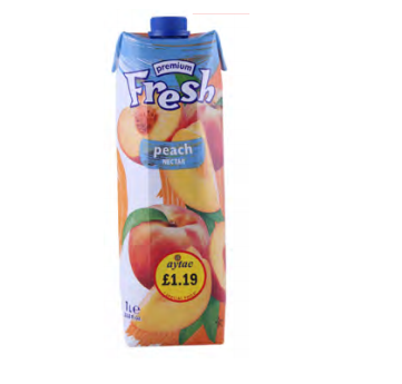 FRESH PEACH NECTAR 1L