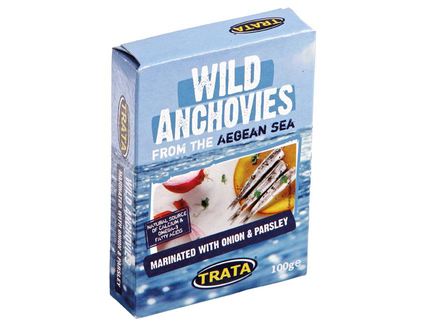 TRATA ANCHOVIES ONION PARSLEY 100G