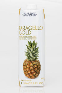 1L tetrapack PINEAPPLE NECTAR - GOLD