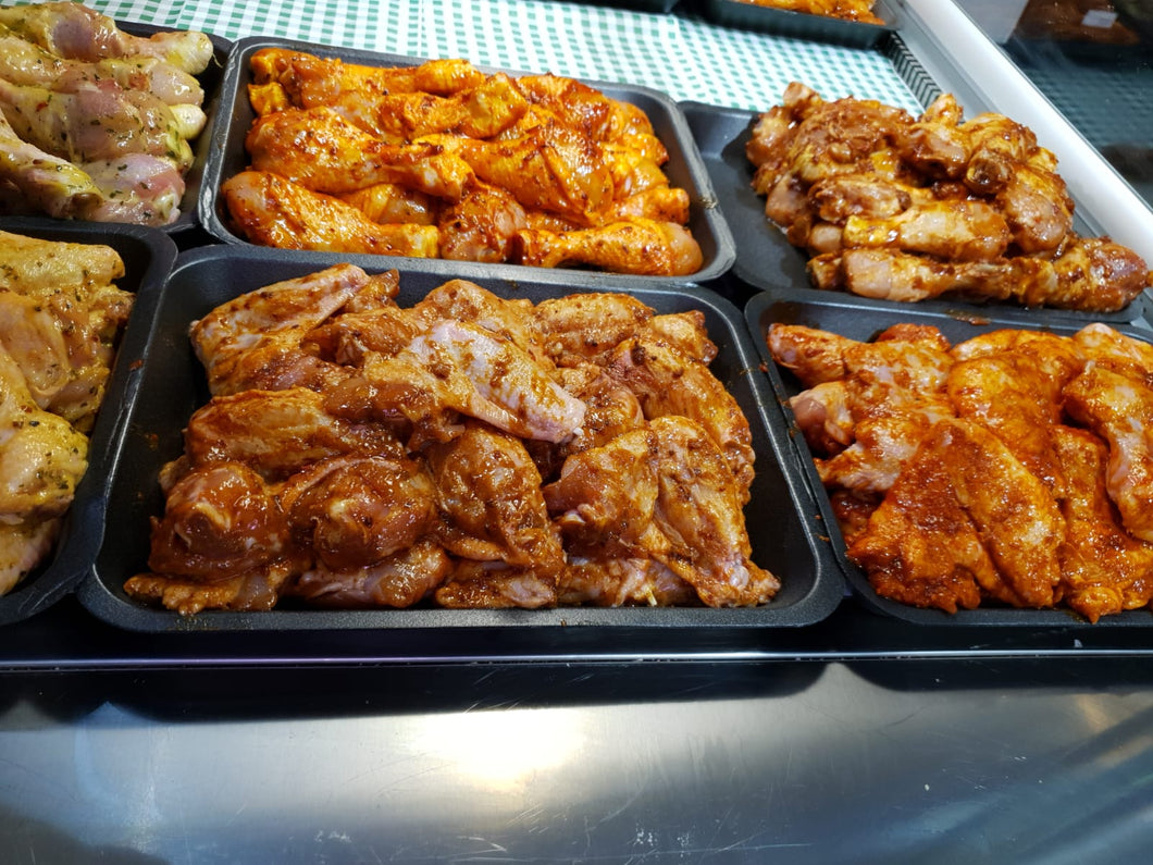 Marinated Chicken Wings Per KG