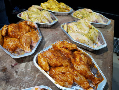 Marinated Whole Baby Chicken Each