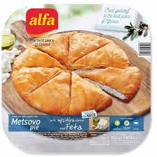 ALFA METSOVOU PIE WITH FETA