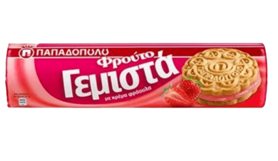 Papadopoulos Biscotello strawberry 200g
