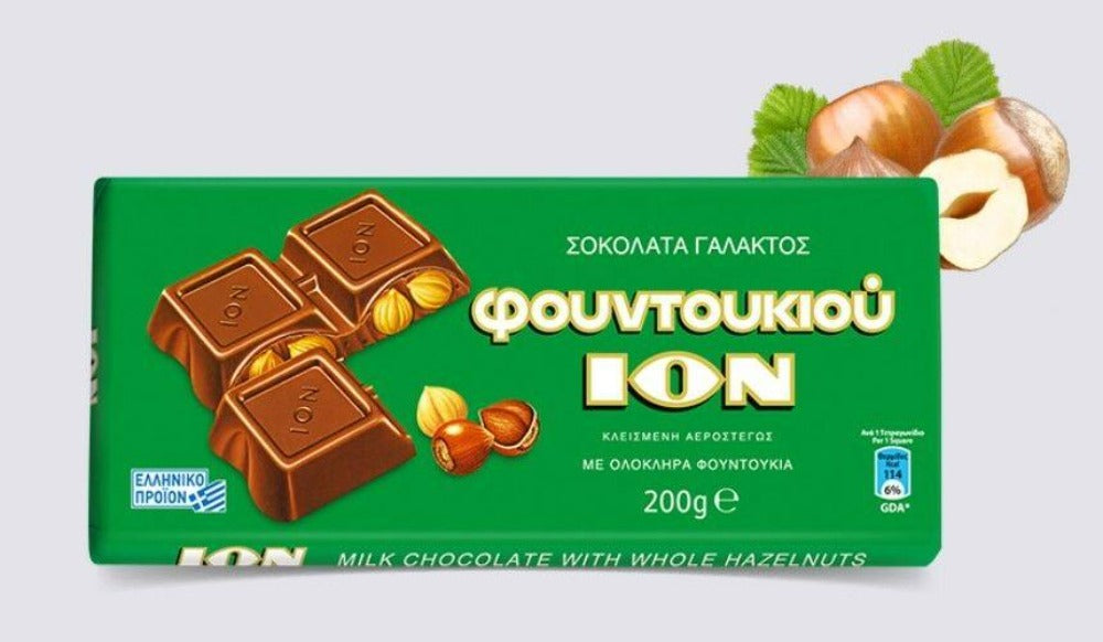 Ion milk chocolate hazelnuts 270g