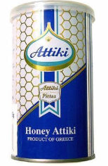 ATTIKI GREEK HONEY BLUE TIN 250G
