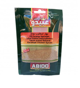 Abido Chicken Escaloppe Spices 50gr