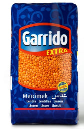 GARRIDO FOOTBALL RED LENTILS 1KG