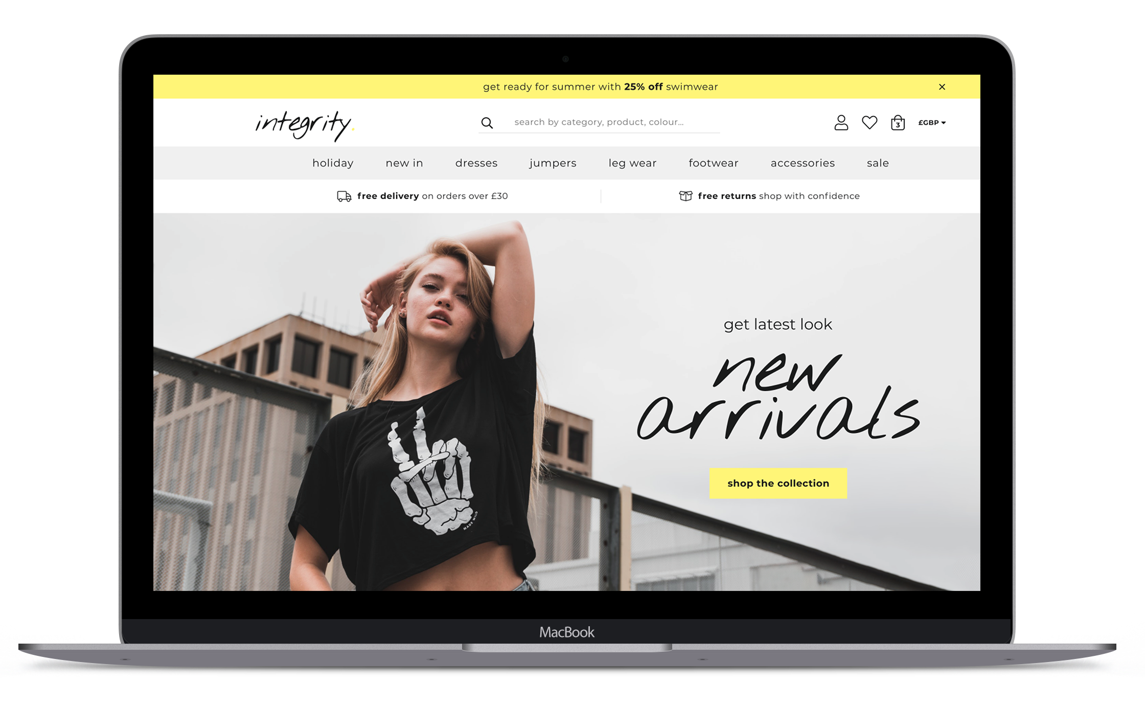 Shopify Fashion Theme Pre-set: Street