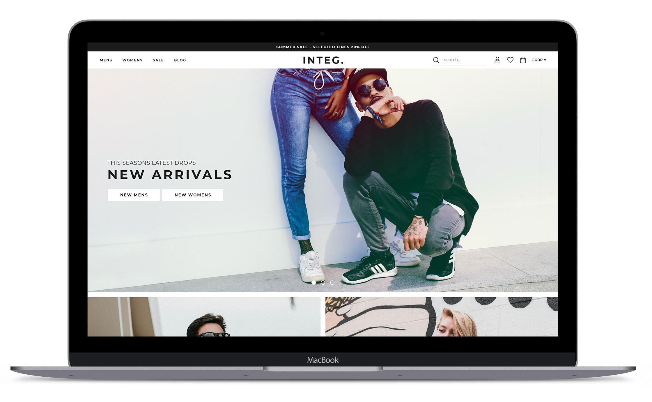 INTEGRITY COMMERCE® FASHION THEME: MODERN