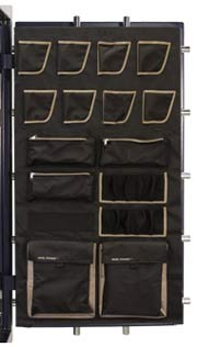 The Premium Accessory Door Panel on the Lincoln gun safes