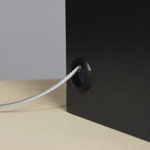 Security Cable Holes
