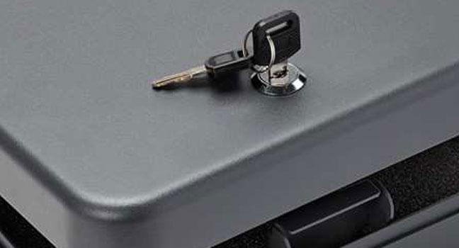 Key Lock Handgun Safes