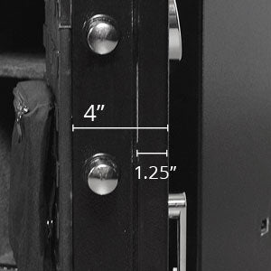 Stealth Gun Safe Feature Locking Bolts