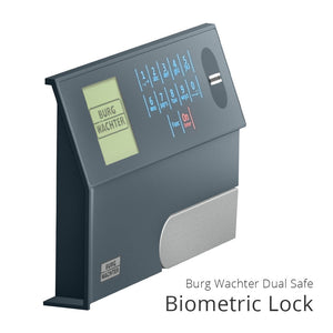 Burg Wachter DS425EFP Biometric Home Safe - Dean Safe
