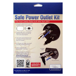 Liberty Power Outlet Kit - Dean Safe