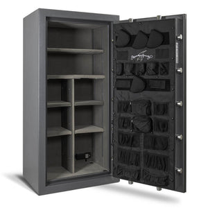 AMSEC NF6032 Gun Safe - Open Shelves Door Panel Organizer Empty