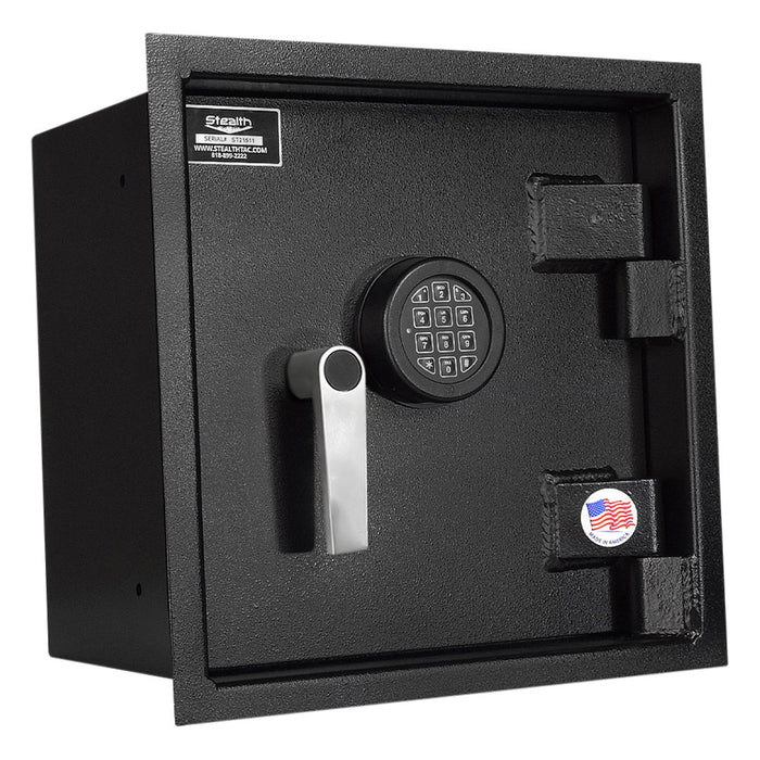 Stealth WSHD1414 Heavy Duty Wall Safe Extra Deep