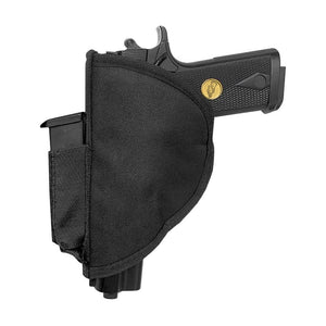 Stealth XL Velcro Pistol Holster with Spandex Magazine Attachment - Dean Safe