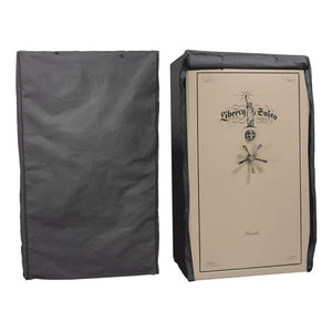 Liberty Gun Safe Cover Size: 30-35 Charcoal Gray Full Concealment - Dean Safe