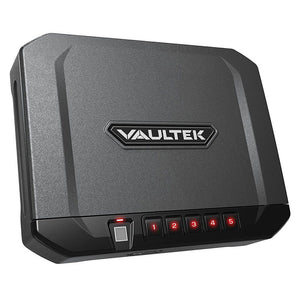 Vaultek VT10i Portable Biometric, Bluetooth & Electronic Smart Handgun Safe - Dean Safe