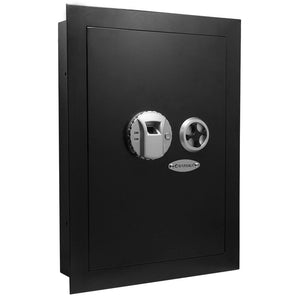 Barska Biometric Wall Safe Left Hand Opening AX13034 - Dean Safe