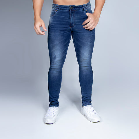 Men's Side Stripe Slim Jeans, 30712