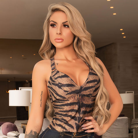 Women's Animal Print  Cami Top, 31006