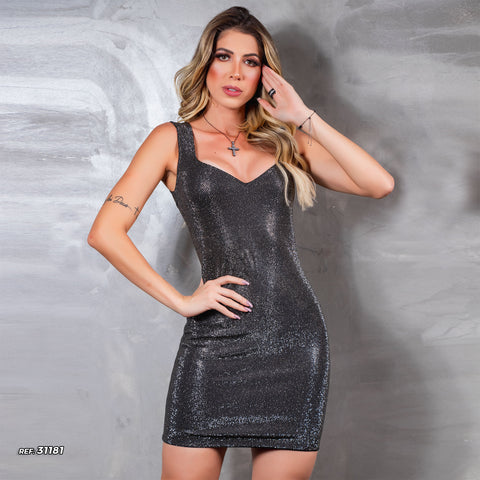 Women's Super Glamour Mini Dress - 31181
