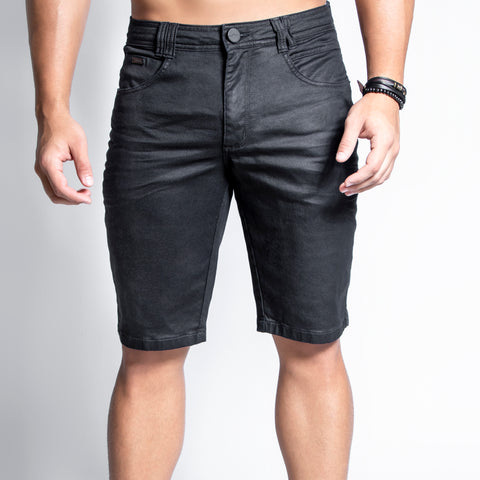 Men's Black Comfort Denim Shorts, 31401