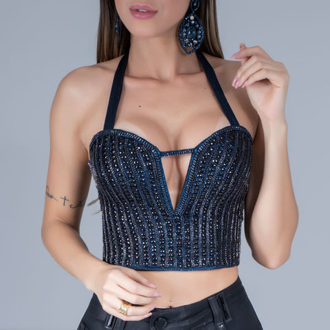 Women's Sexy Low-Cut Tube Top, 32241