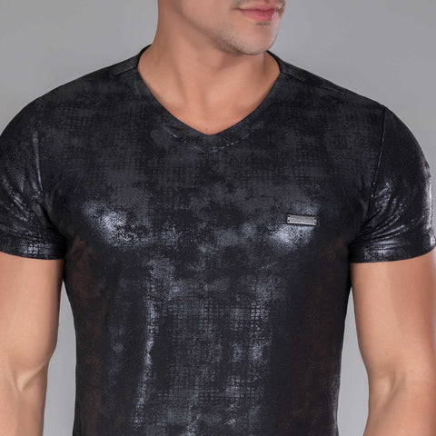 Men V- Neck Shirt - 32506