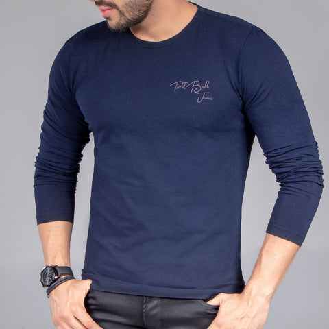 Men's Long Sleeves Basic Tee, 33179
