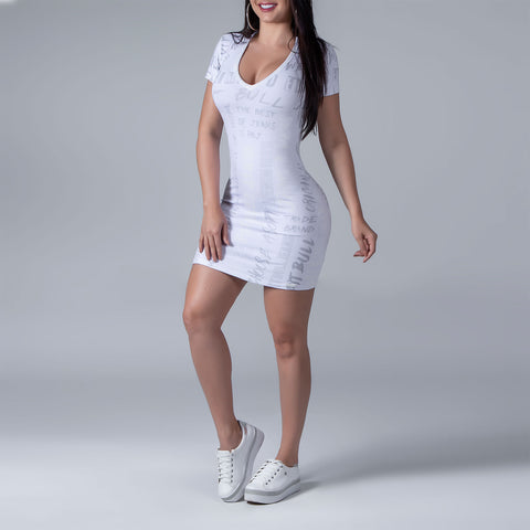 Women's T-Shirt Dress, 33744