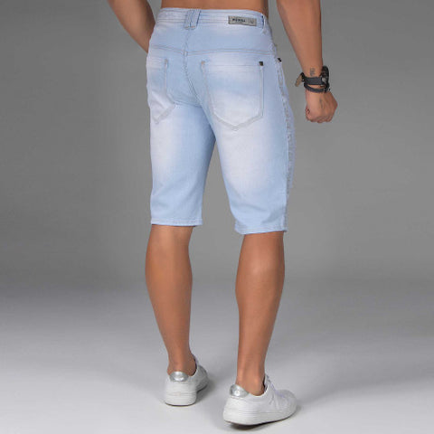 Men's Light Blue Shorts  - 34173