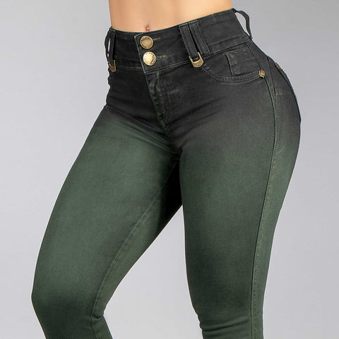 Women Collor Skinny Jeans   34187