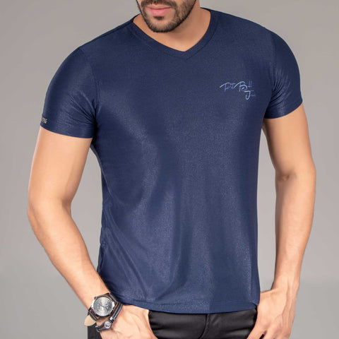 Men V-Neck Shirt - 34892