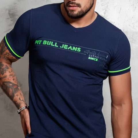 Men V-Neck Shirt - 36118