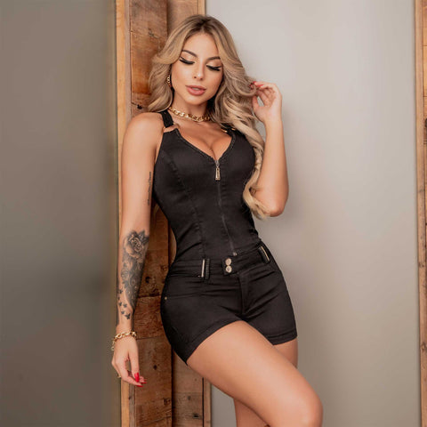 Women Denim Jumpsuit - 36734